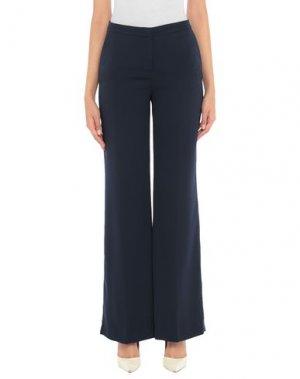 Повседневные брюки 1-ONE. Цвет: темно-синий