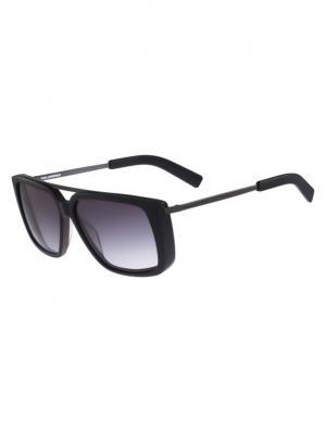 Солнцезащитные очки KL 892S 001 Karl Lagerfeld. Цвет: черный
