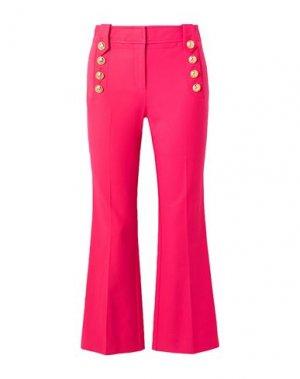 Повседневные брюки DEREK LAM 10 CROSBY. Цвет: фуксия