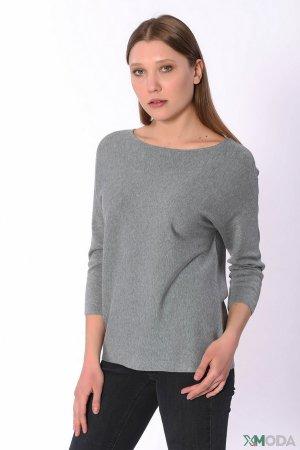 Пуловер Set. Цвет: серый
