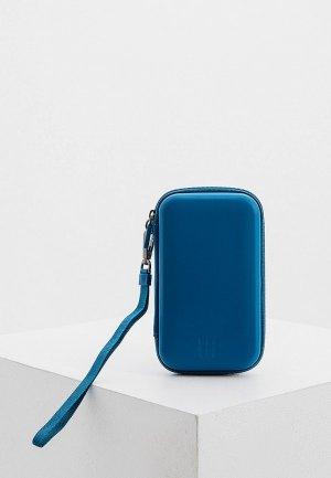 Чехол для телефона Moleskine. Цвет: синий
