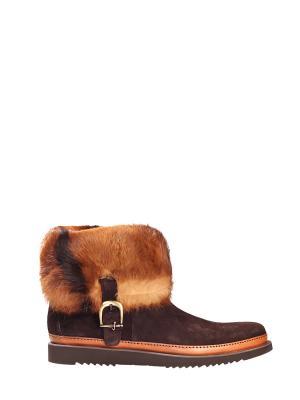 Ботинки Cesare Paciotti. Цвет: коричневый
