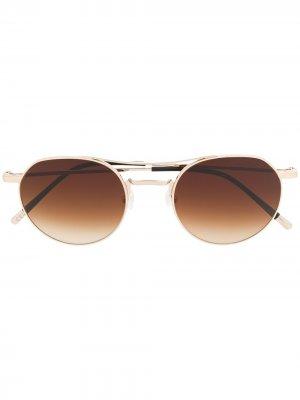 Солнцезащитные очки Cerbero Epos. Цвет: коричневый