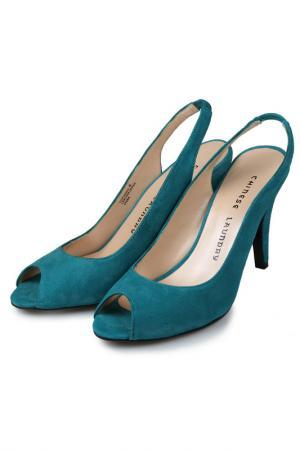 Туфли CHINESE LAUNDRY. Цвет: синий
