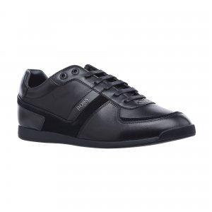 Кеды Maze Low Profile Sneakers in Plain Leather HUGO BOSS