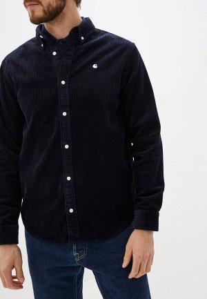 Рубашка Carhartt Madison Cord. Цвет: синий