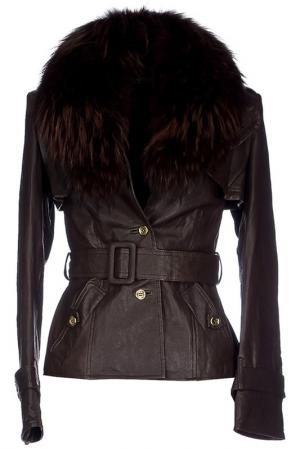 Куртка BeaYukMui. Цвет: коричневый