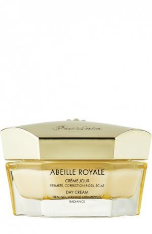 Легкий дневной крем Abeille Royale Guerlain. Цвет: бесцветный