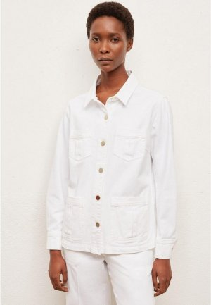 Куртка джинсовая Gerard Darel. Цвет: белый