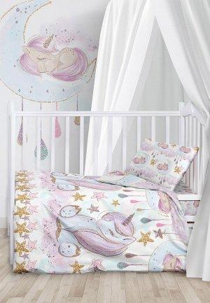 Постельное белье детское Juno Unicorns