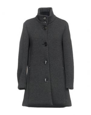 Легкое пальто RRD. Цвет: стальной серый