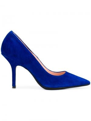 Pointed toe pumps Anna F.. Цвет: синий