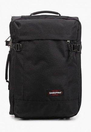 Чемодан Eastpak TRANVERZ XS Cabin size. Цвет: черный