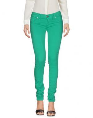 Повседневные брюки FREESOUL. Цвет: зеленый