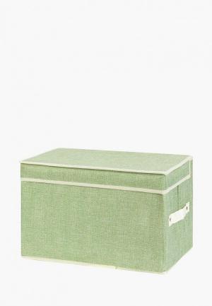 Короб для хранения El Casa. Цвет: зеленый