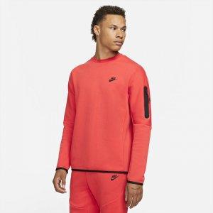 Мужской свитшот Sportswear Tech Fleece - Красный Nike