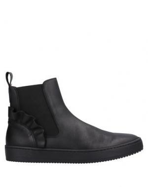 Полусапоги и высокие ботинки AURORA. Цвет: черный