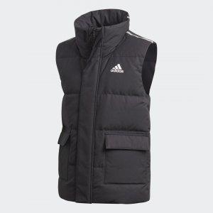 Утепленный жилет Performance adidas. Цвет: черный