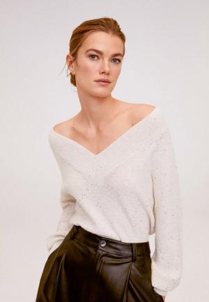Пуловер Mango - NORMA. Цвет: бежевый