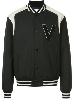 Куртка-бомбер с логотипом Ports V