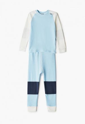 Комплект Helly Hansen K HH LIFA MERINO SET. Цвет: голубой