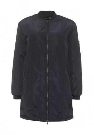 Куртка утепленная By Swan. Цвет: синий