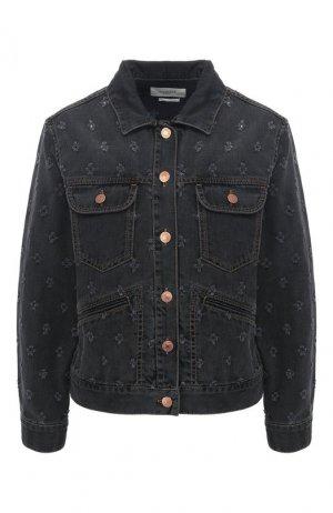 Джинсовая куртка Isabel Marant Etoile. Цвет: черный