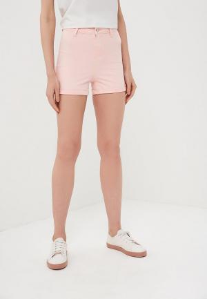 Шорты джинсовые Modis. Цвет: розовый
