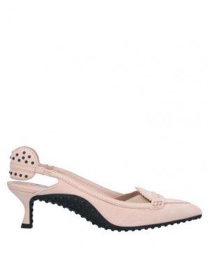 Туфли ALESSANDRO DELL'ACQUA x TOD'S. Цвет: светло-розовый