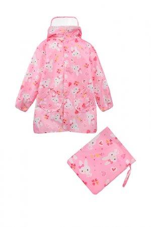 Дождевик PlayToday. Цвет: розовый