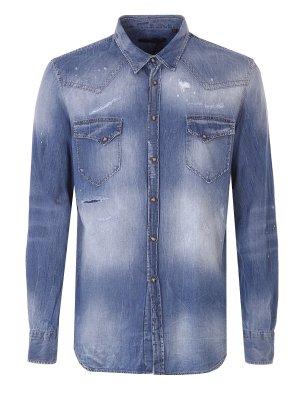 Рубашка джинсовая FRANKIE MORELLO