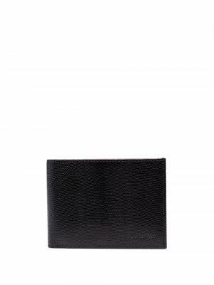 Складной кошелек Karl Lagerfeld. Цвет: черный