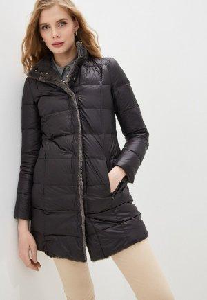 Куртка утепленная Patrizia Pepe. Цвет: разноцветный