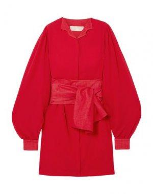Платье до колена ANTONIO BERARDI. Цвет: красный