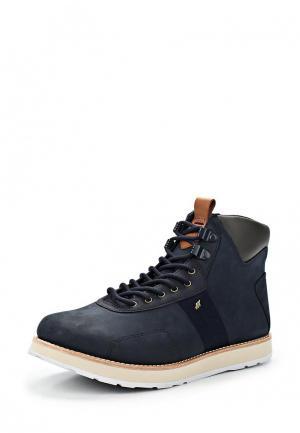 Ботинки Boxfresh. Цвет: синий
