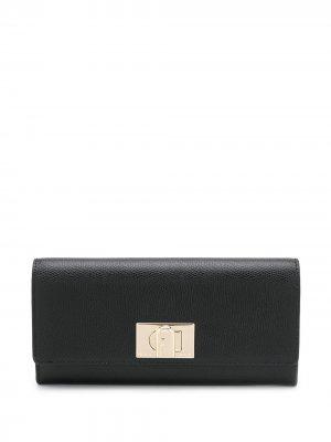 Бумажник 1927-го года Furla. Цвет: черный