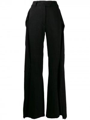 Расклешенные брюки широкого кроя Ann Demeulemeester