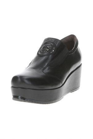 Туфли Santini. Цвет: черный