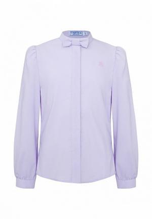 Блуза Смена. Цвет: фиолетовый