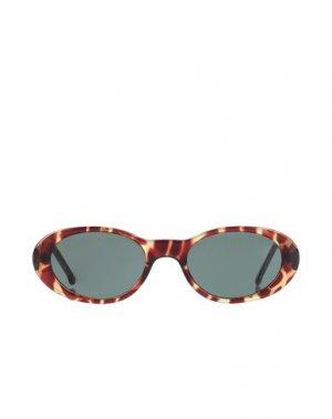 Солнечные очки KOMONO. Цвет: коричневый