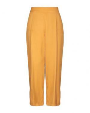 Повседневные брюки LIBERTINE-LIBERTINE. Цвет: охра