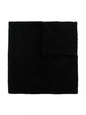 Crystal-embellished D scarf Dondup Kids. Цвет: черный