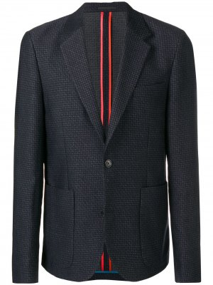 Perfectly fitted jacket PS Paul Smith. Цвет: синий