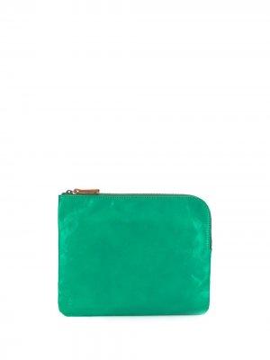 Большой кошелек Hocker Ally Capellino. Цвет: зеленый