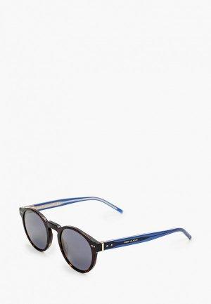 Очки солнцезащитные Tommy Hilfiger TH 1795/S 086. Цвет: коричневый