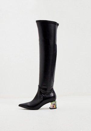 Ботфорты Karl Lagerfeld. Цвет: черный
