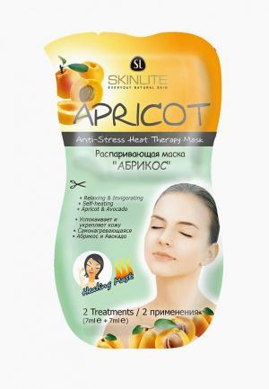 Набор для ухода за лицом Skinlite Распаривающая маска. АБРИКОС. 2 применения, 7 мл х 2,  из 3 уп. Цвет: прозрачный
