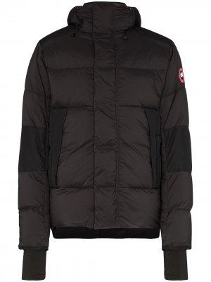 Пуховик Armstrong с капюшоном Canada Goose. Цвет: черный