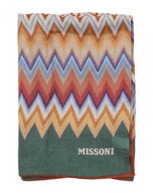 Пляжное полотенце MISSONI HOME. Цвет: оранжевый