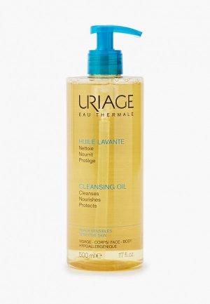 Масло для душа Uriage Очищающее пенящееся , Флакон-помпа 500 мл. Цвет: прозрачный